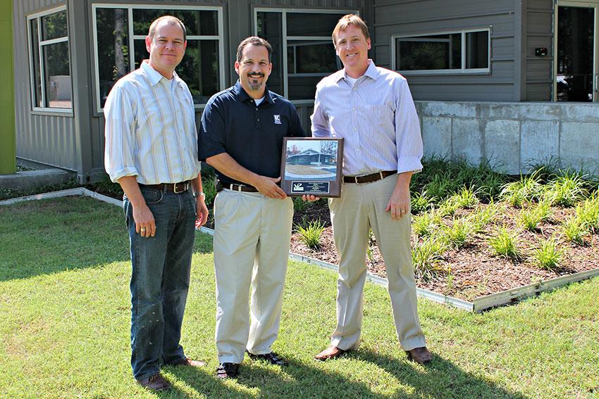 Jim Hugg And Art Kinnaman Win Varco Pruden Award Hugg